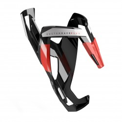 BLACK glossy, red graphic