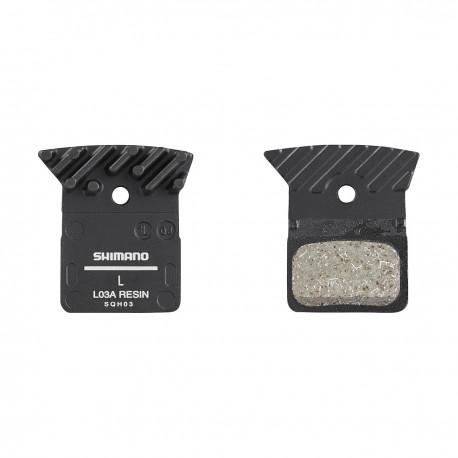 pastiglie freno Resina L03A Incl Spring/Split Pin 1 pair